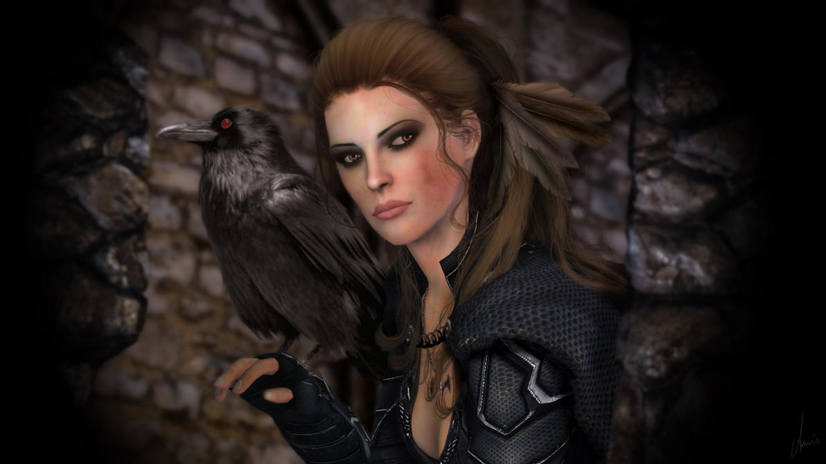 The Breton Nightingale by amnis406