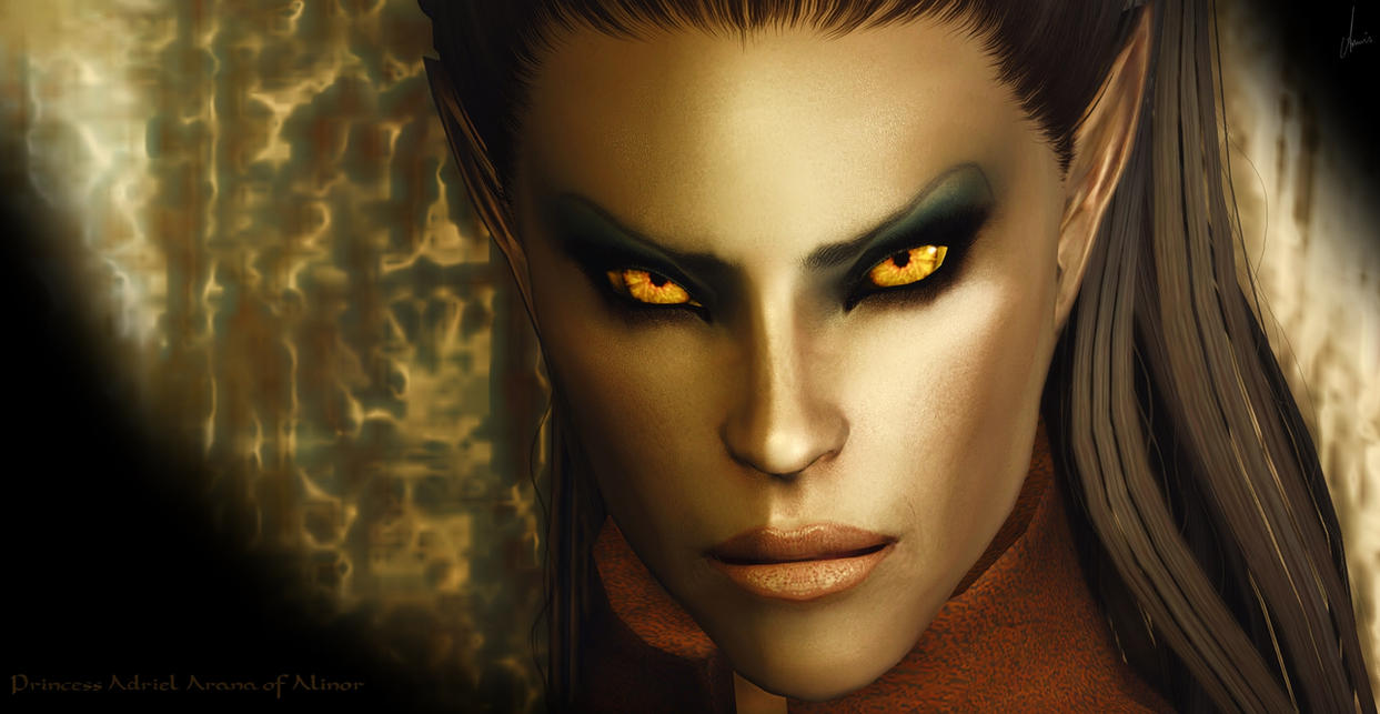 Gold, The Color Of Evil by amnis406