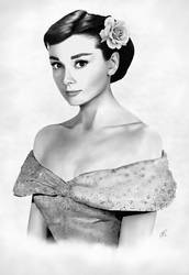 Audrey Hepburn - Timeless Beauty by amnis406