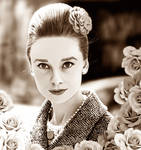 Audrey  (Sepia Version)