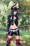 Gold Saw _ Black Rock Shooter Cosplay
