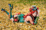 Poison Ivy Steampunk Cosplay
