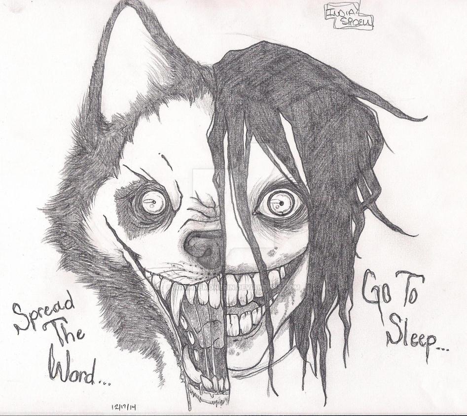 smile dogjeff the killer by archdemonerin on deviantart