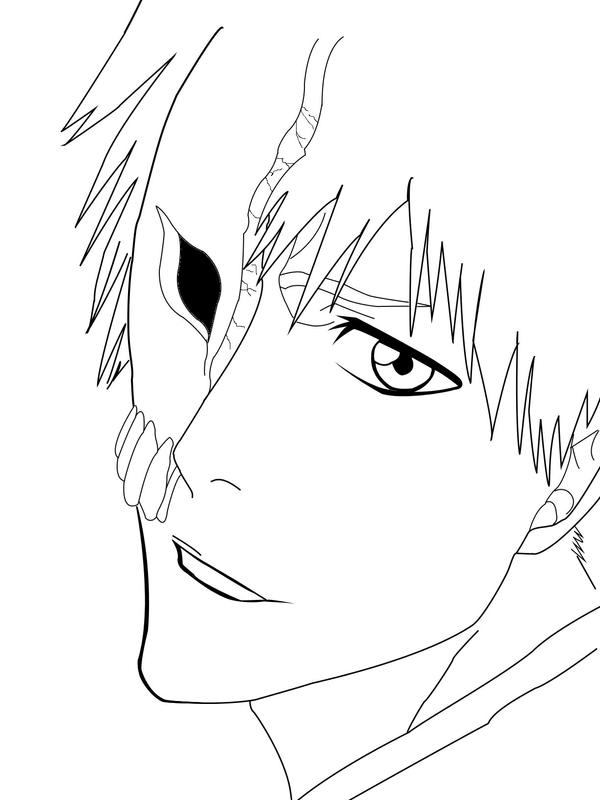 bleach coloring book pages - photo#20