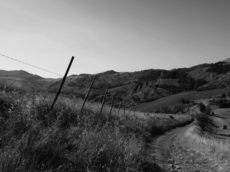Footpath and Hills by Conceptualert