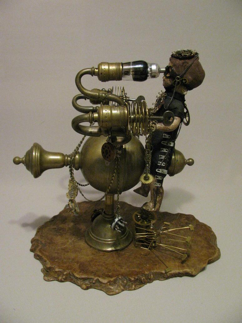 Steampunk Voyager by plumeriadancer