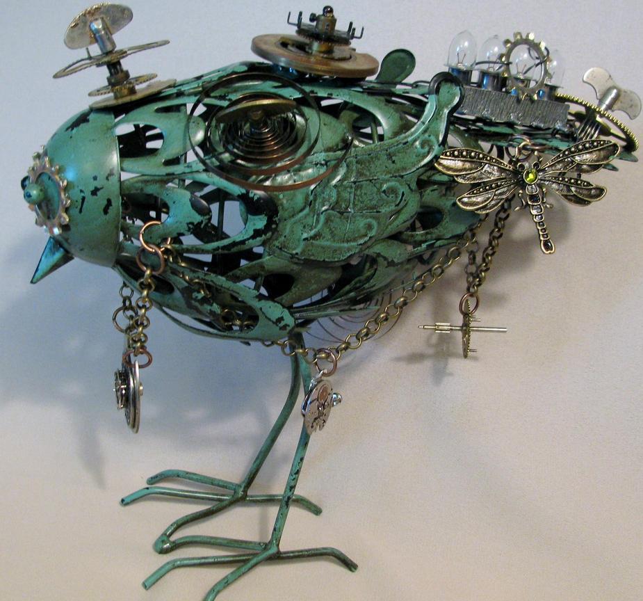 Geared For Flight (SOLD) by plumeriadancer