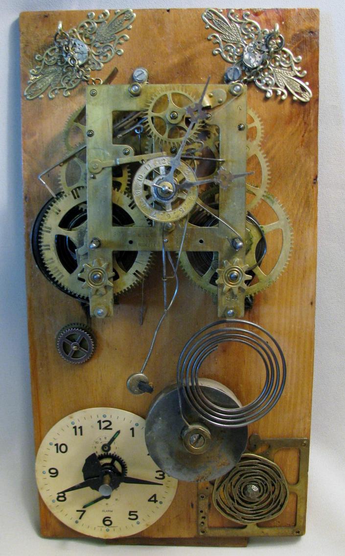Pieces of Time by plumeriadancer