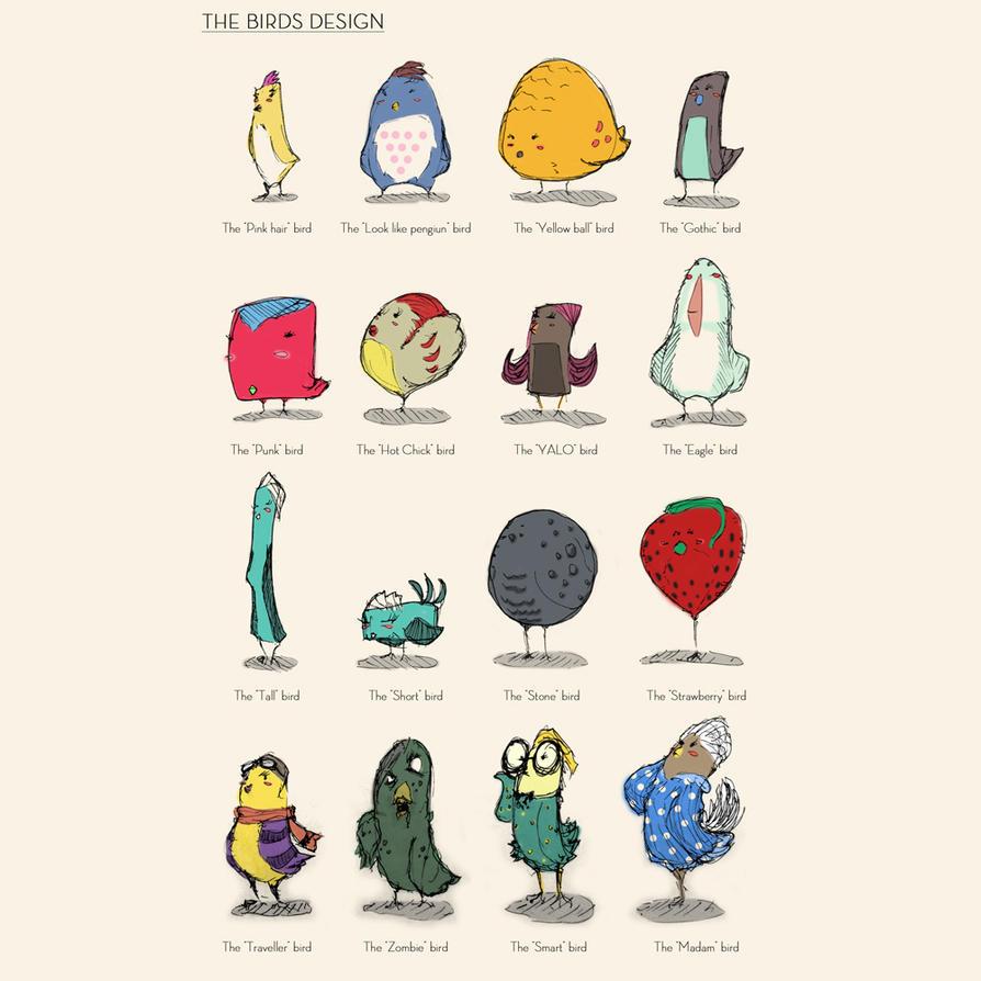 The Bird concept design by SEEZ85