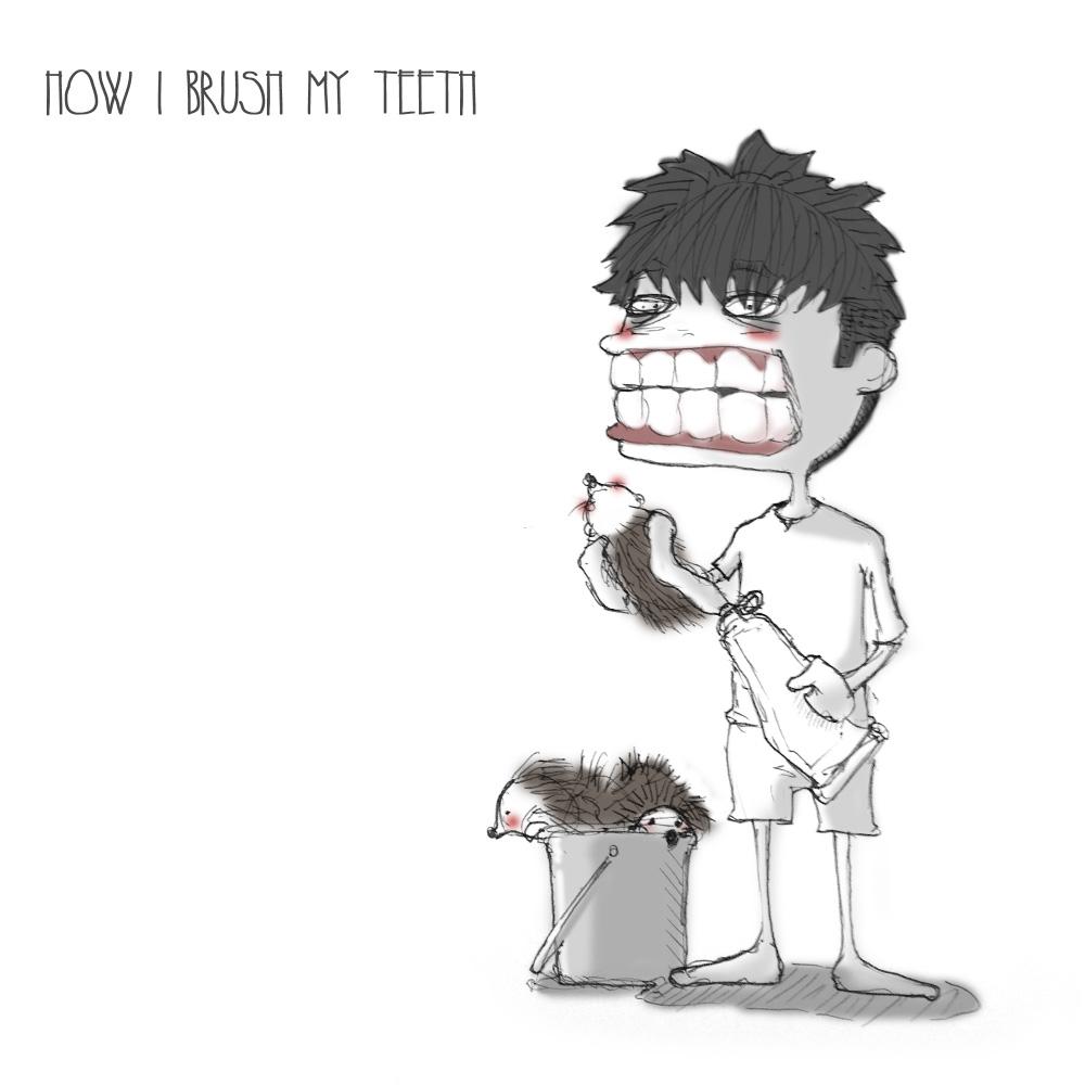 003 - Brushing teeth by SEEZ85