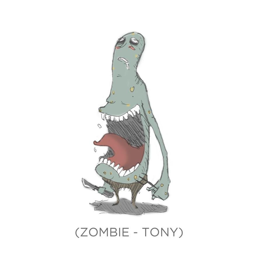 003 - Zombie - Tony by SEEZ85