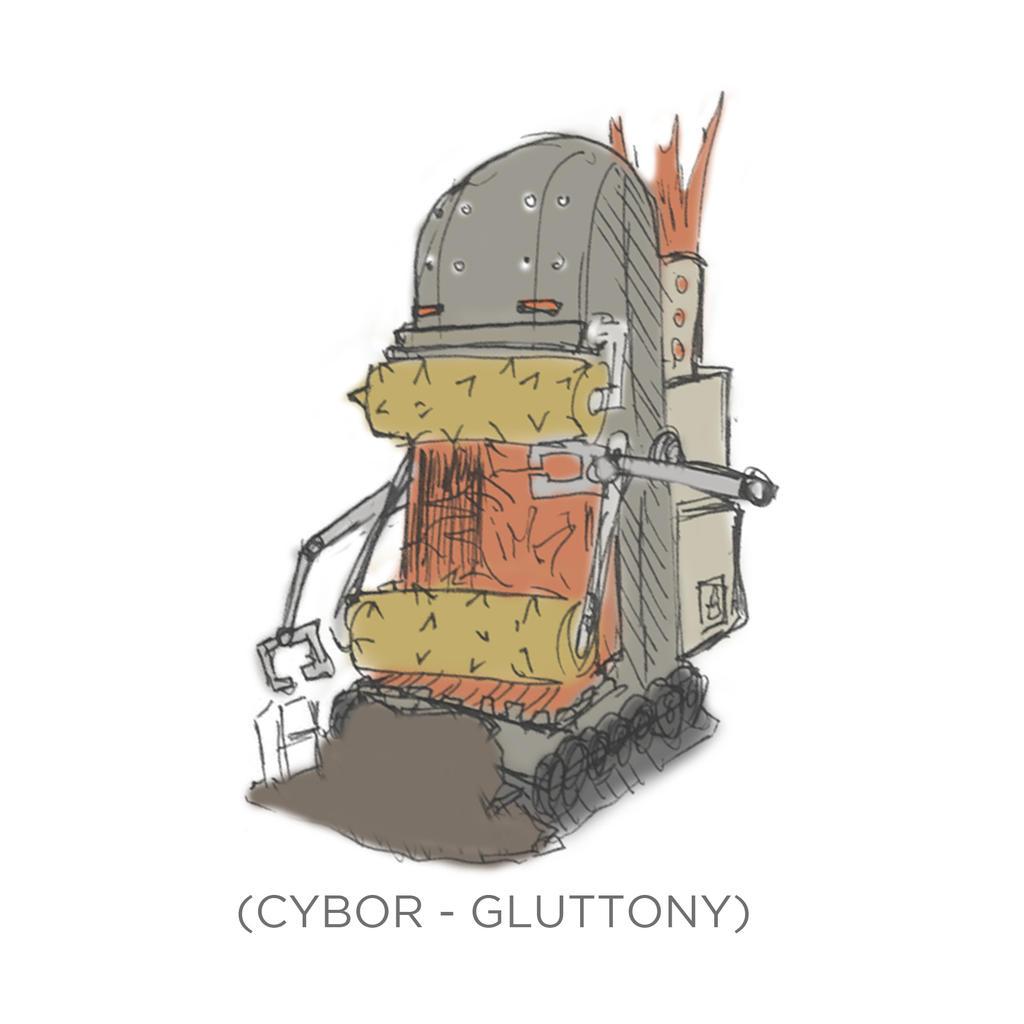 004 - Cybor - Gluttony by SEEZ85