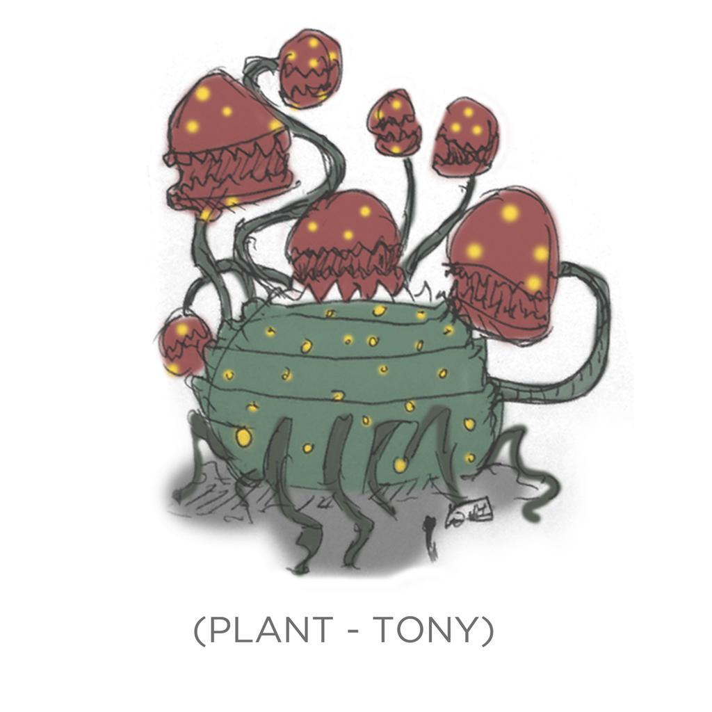 007 - Plant - Tony by SEEZ85