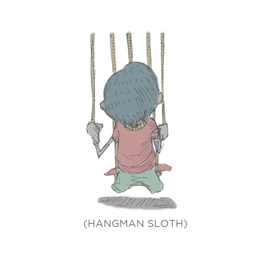 002 - Hangman Sloth by SEEZ85