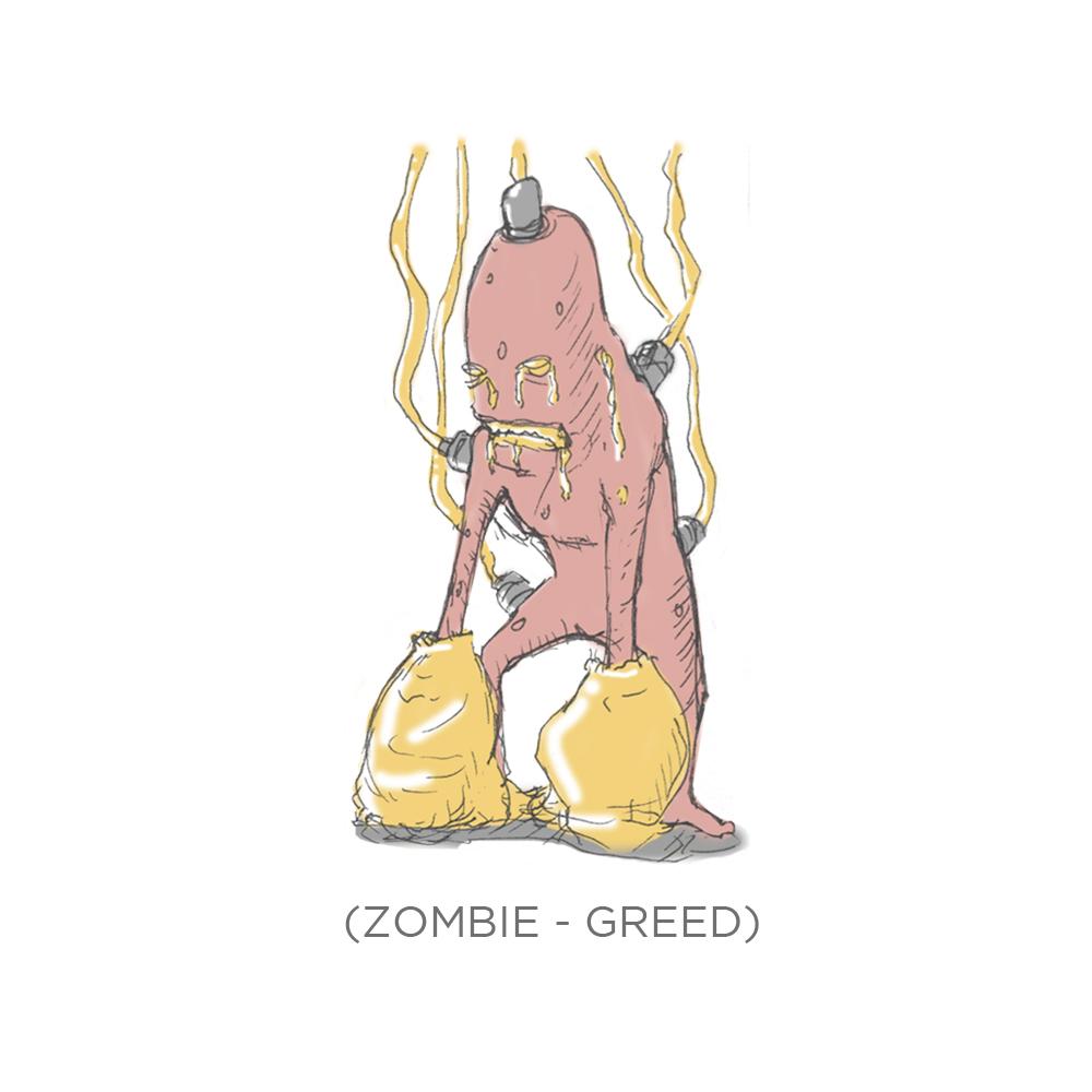 003 - Zombie Greed by SEEZ85