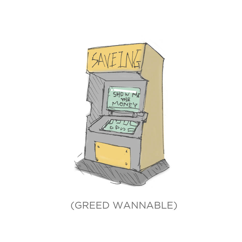 006 - Greed wannabe by SEEZ85
