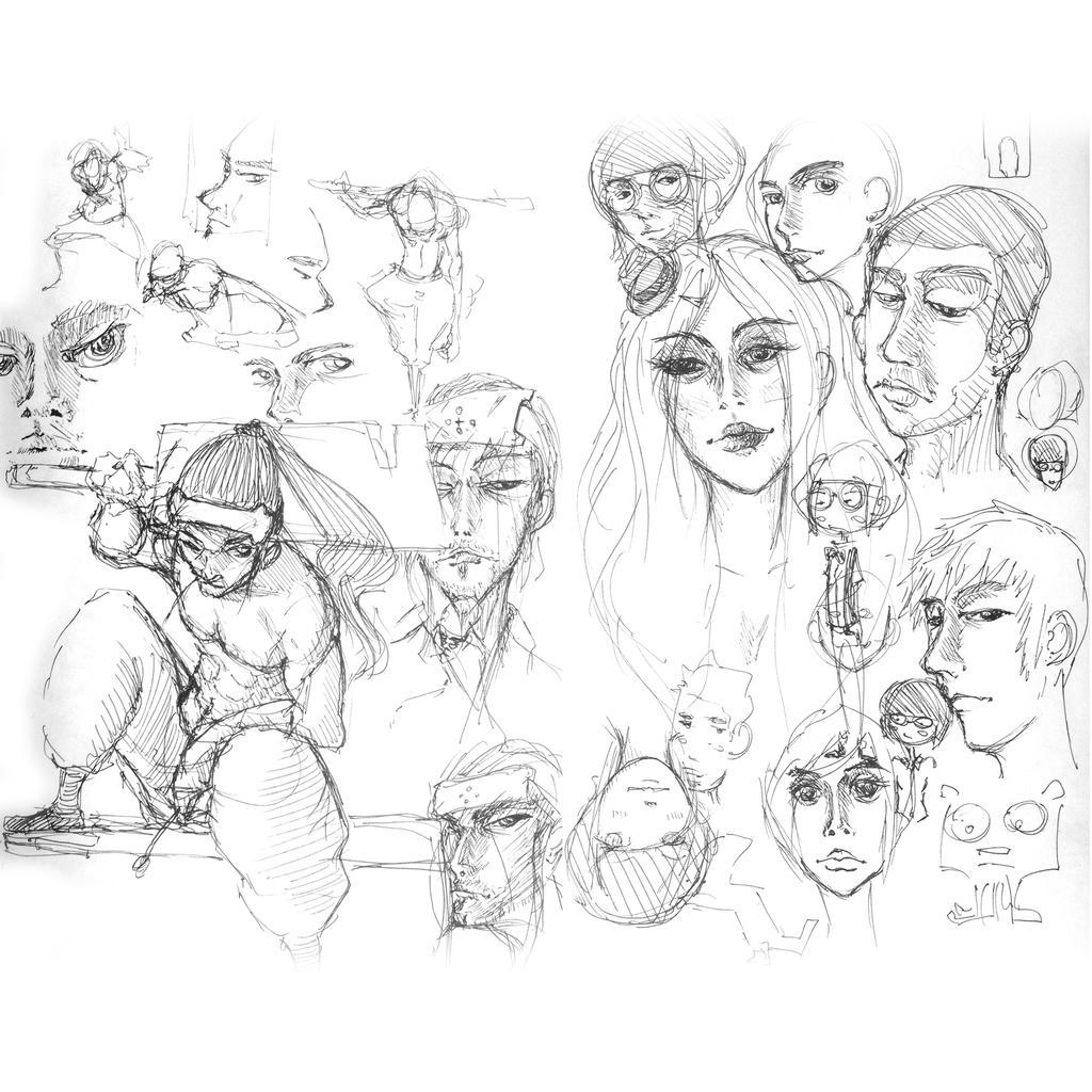 Random doodle 002 by SEEZ85