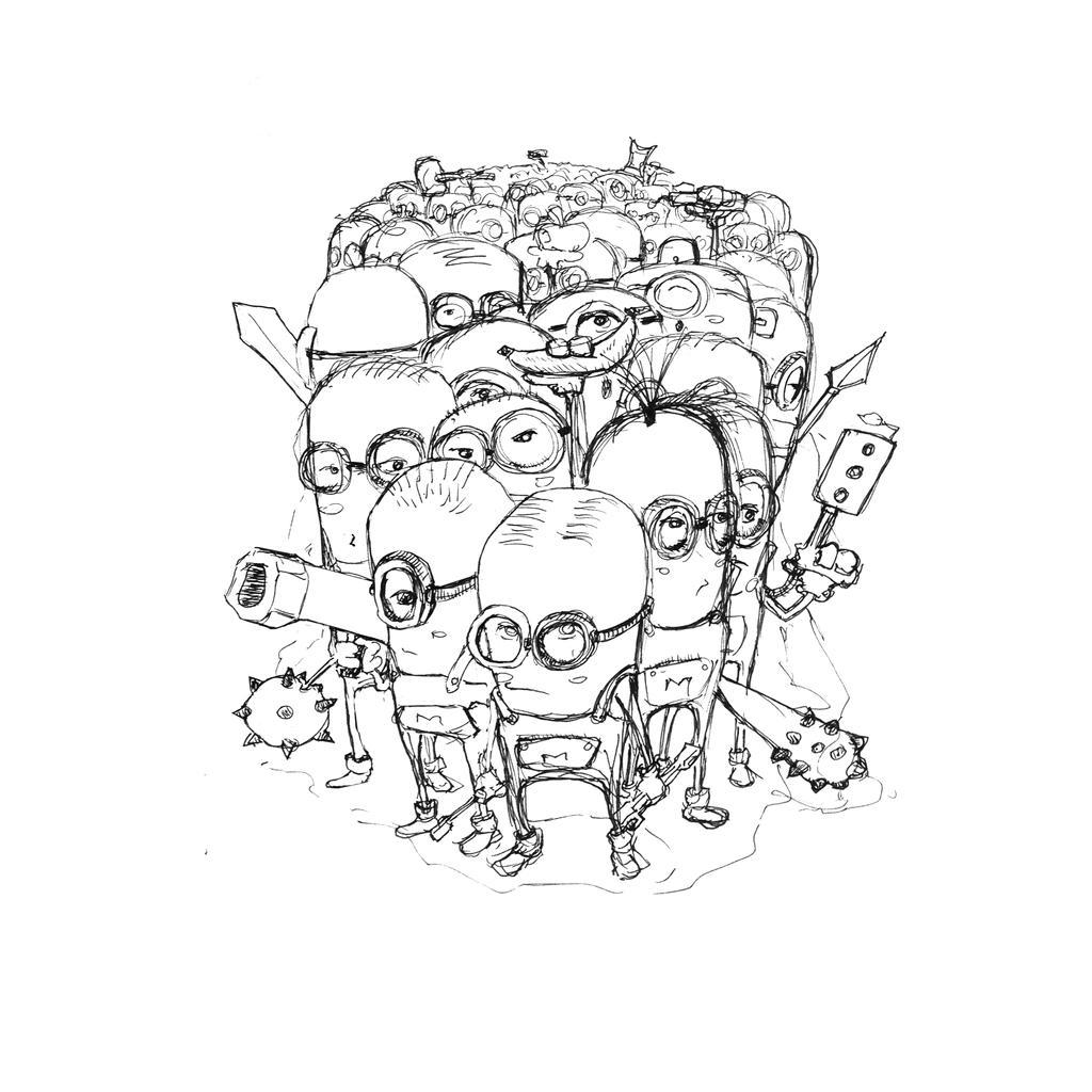 Minion Power Sketch by SEEZ85