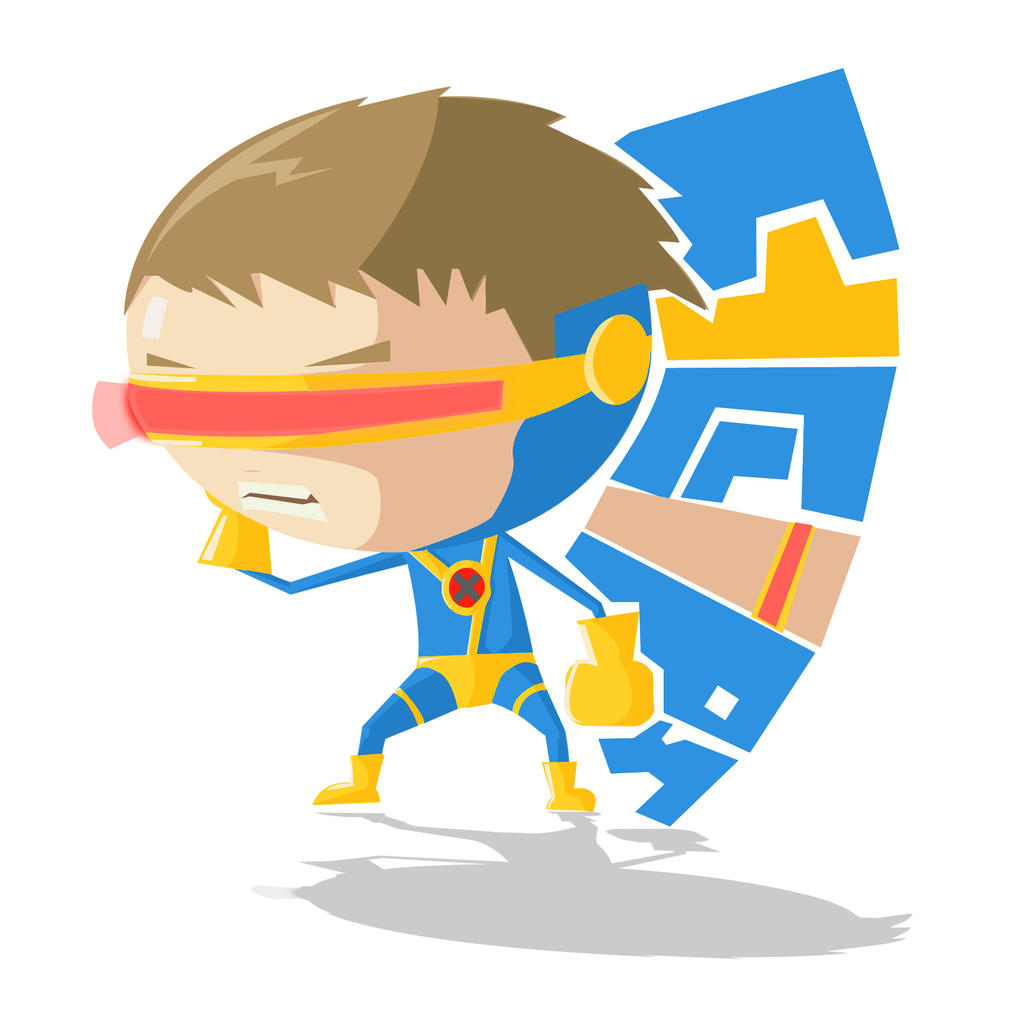 X- Men - Cyclops (Style) by SEEZ85