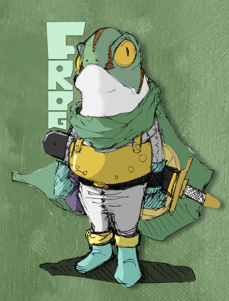 Chrono Trigger - Frog v1 by SEEZ85