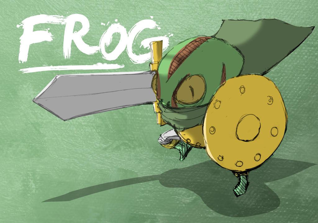 Chrono Trigger - Frog v2 by SEEZ85