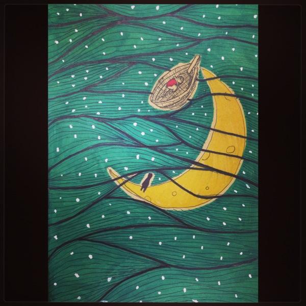 Moonlight ocean by SEEZ85