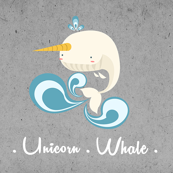 Unicorn Whale by SEEZ85