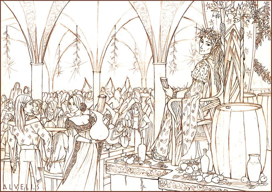 Elfs of Mirkwood by Tanmorna