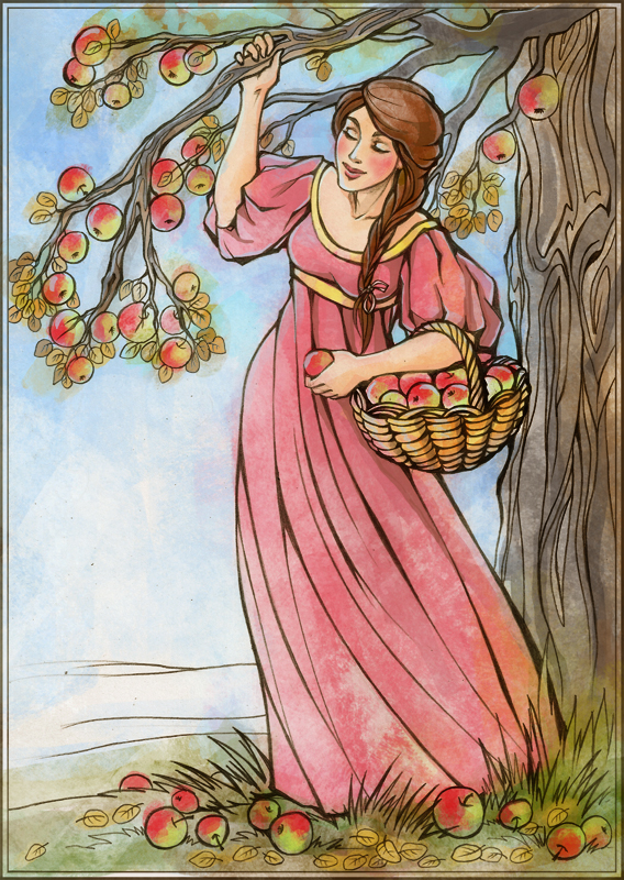 Apples by Tanmorna