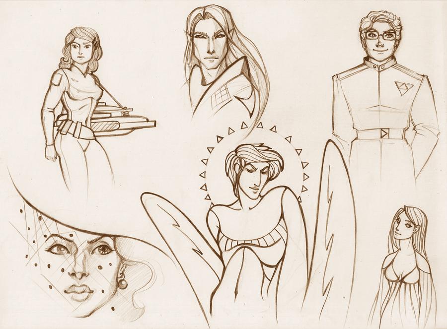 Sketch by Tanmorna