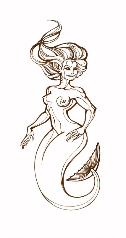 Mermaid by Tanmorna