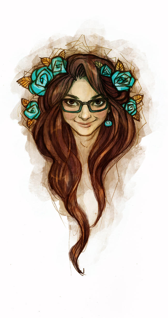 Self-portrait by Tanmorna