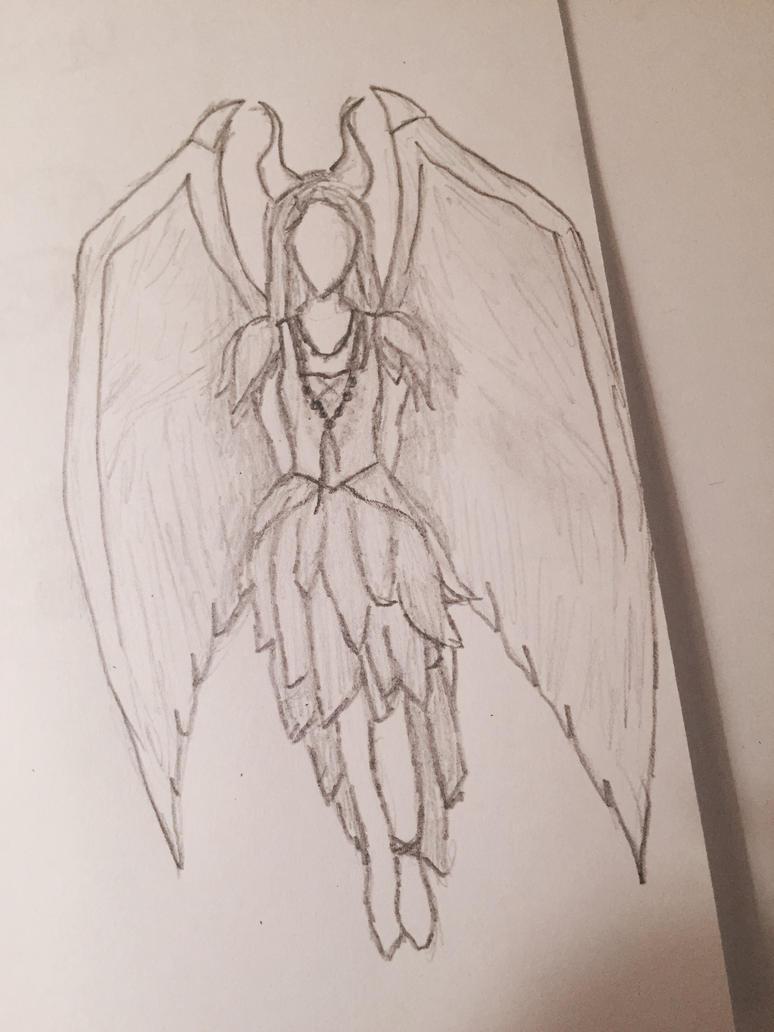 Maleficent sketch by StarKeeper153