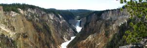Lower Falls Panoramic