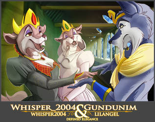Gundunim and the royal court by gundunim