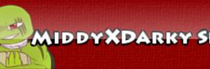 MiddyXDarky Shipper Button by ArtisticJessy