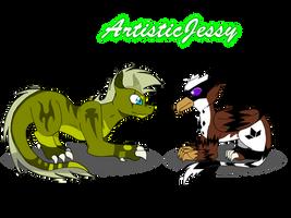 Little buddies~ by ArtisticJessy