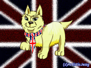 Art Commission - British Dog