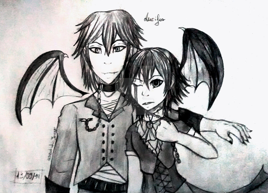 New Manga Characters by ArtisticJessy