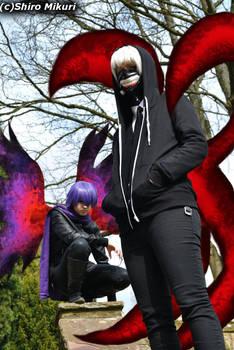 Tokyo Ghoul - Kaneki and Ayato