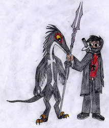 Troodon Kid and Dark Prince