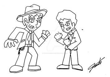 Indiana Jones vs RobertLangdon