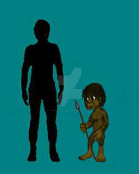 Homo floresiensis scale