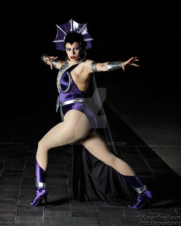 Evil-Lyn the Sorceress of the Night by cityoffog