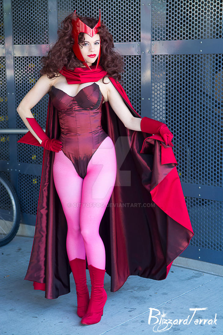 The Scarlet Witch by cityoffog