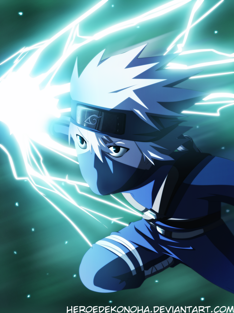 Young Kakashi Raikiri by HEROEDEKONOHA on DeviantArt