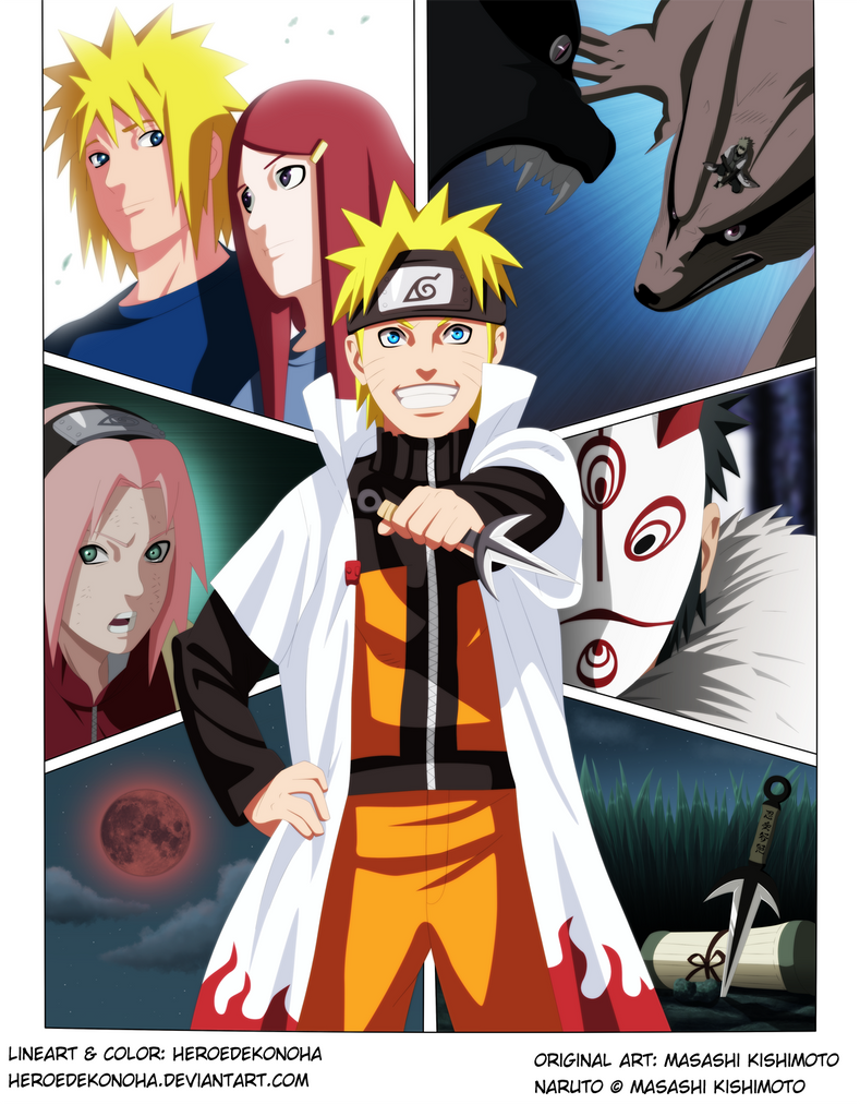 Road to Ninja-Naruto by HEROEDEKONOHA
