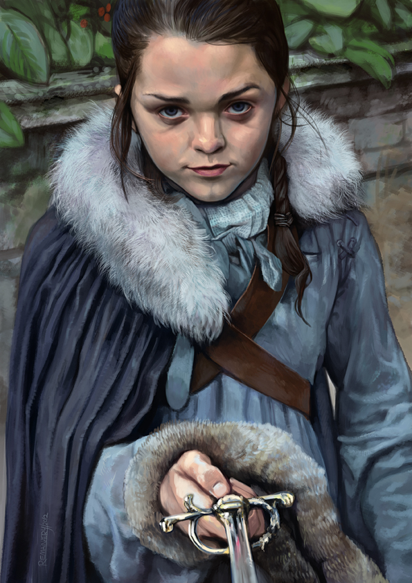Arya Stark by Remainaery