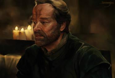 Jorah Mormont Study unfinished