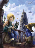 FF9 Cointoss by Remainaery